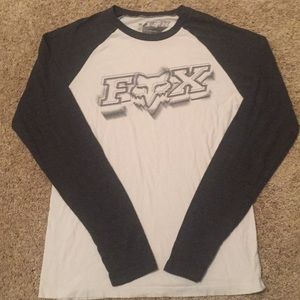 Fox long sleeve. M (fits like L)